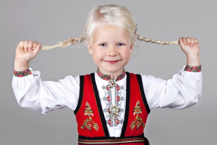 Almankas Ost-Telemark jentebunad