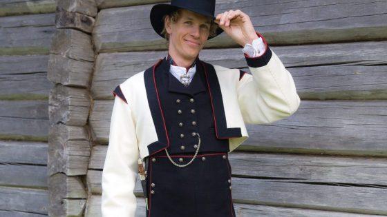 Almankas vest Telemark herre kortjakke (2)