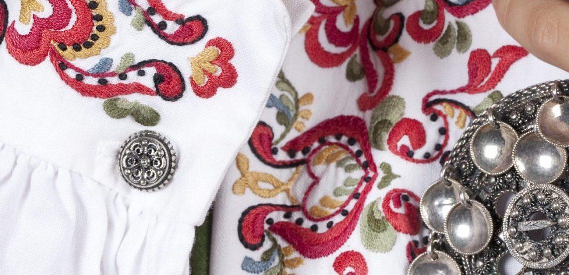 Almankås Øst-Telemark bunadskjorte