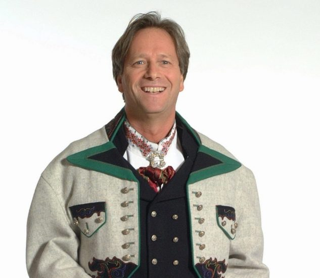 Almankås Øst Telemark herre grå jakke