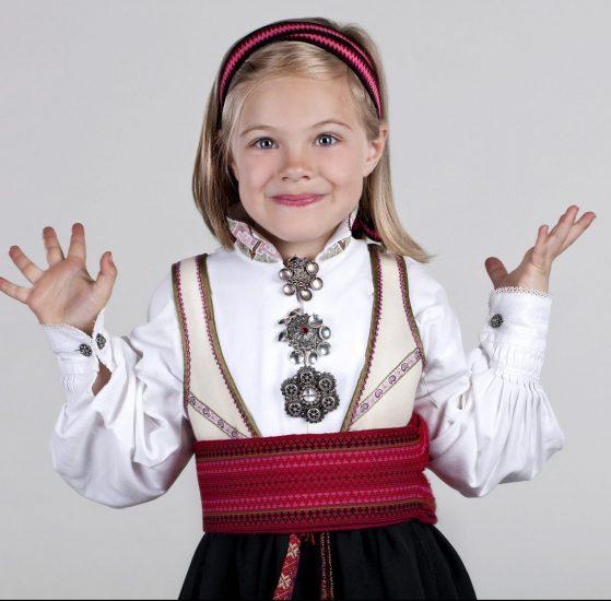 Almankås Beltestakk barn med vippe