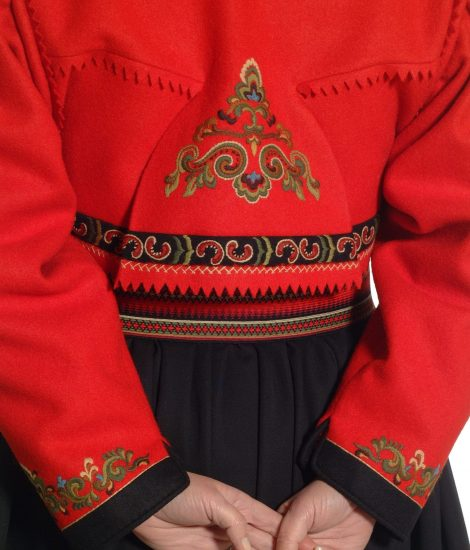 Almankås Øst Telemark prinsesse jakke