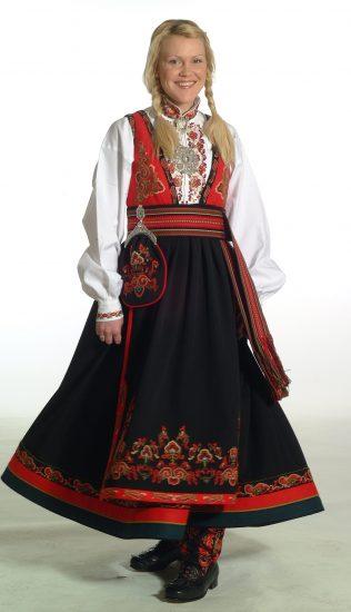 Almankås Øst-telemark dame